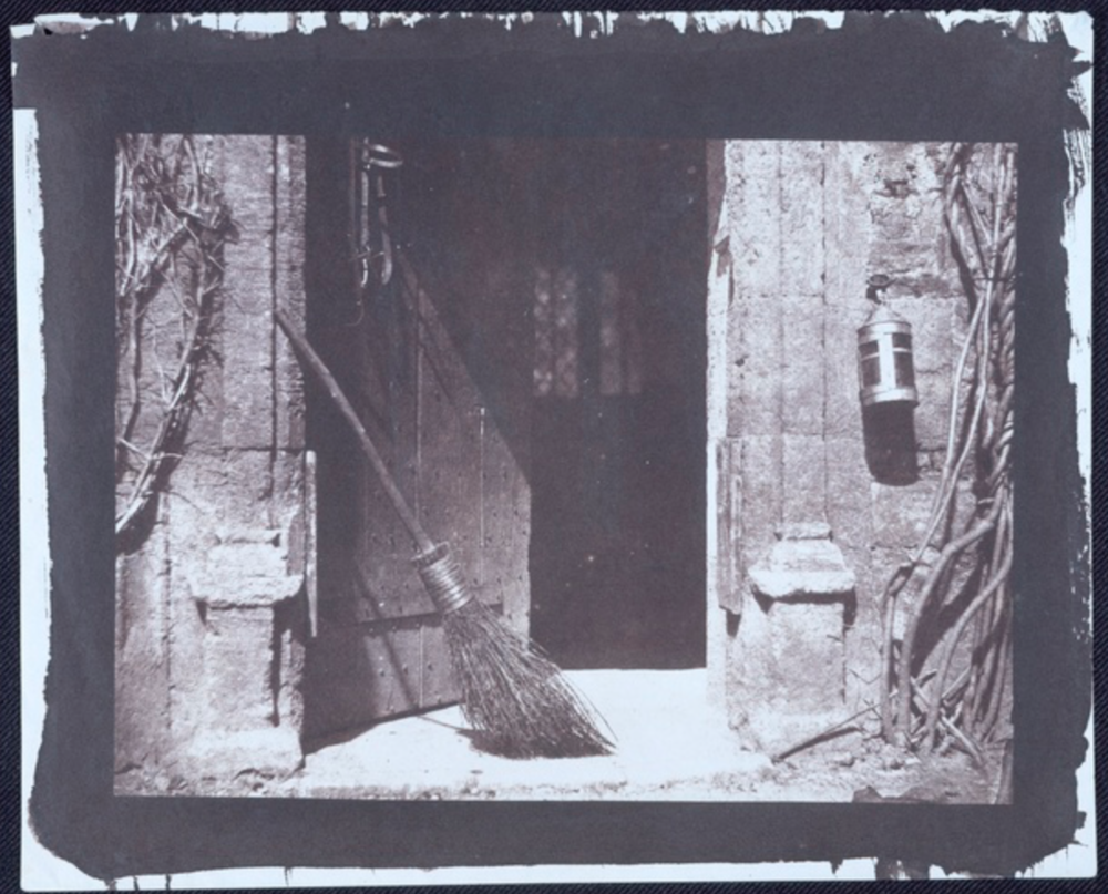The Open Door 1843 William Henry Fox Talbot © National Media Museum / Science & Society Picture Library