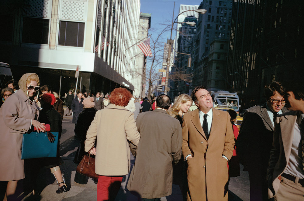 © Joel Meyerowitz_New York City, 1974
