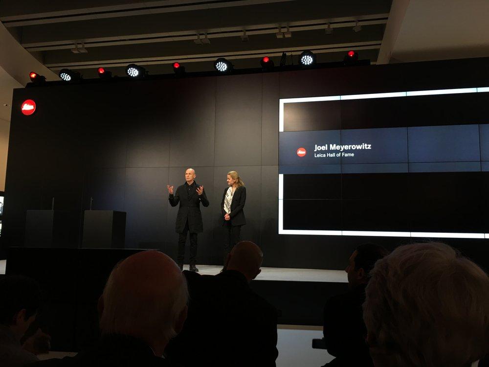Joel Meyerowitz mit Karin Rehn-Kaufmann