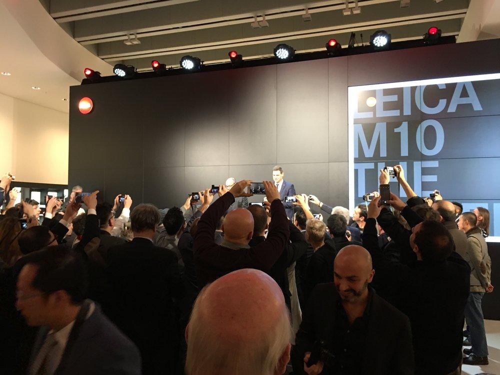 Die Leica M 10 erblickt das Licht der Welt