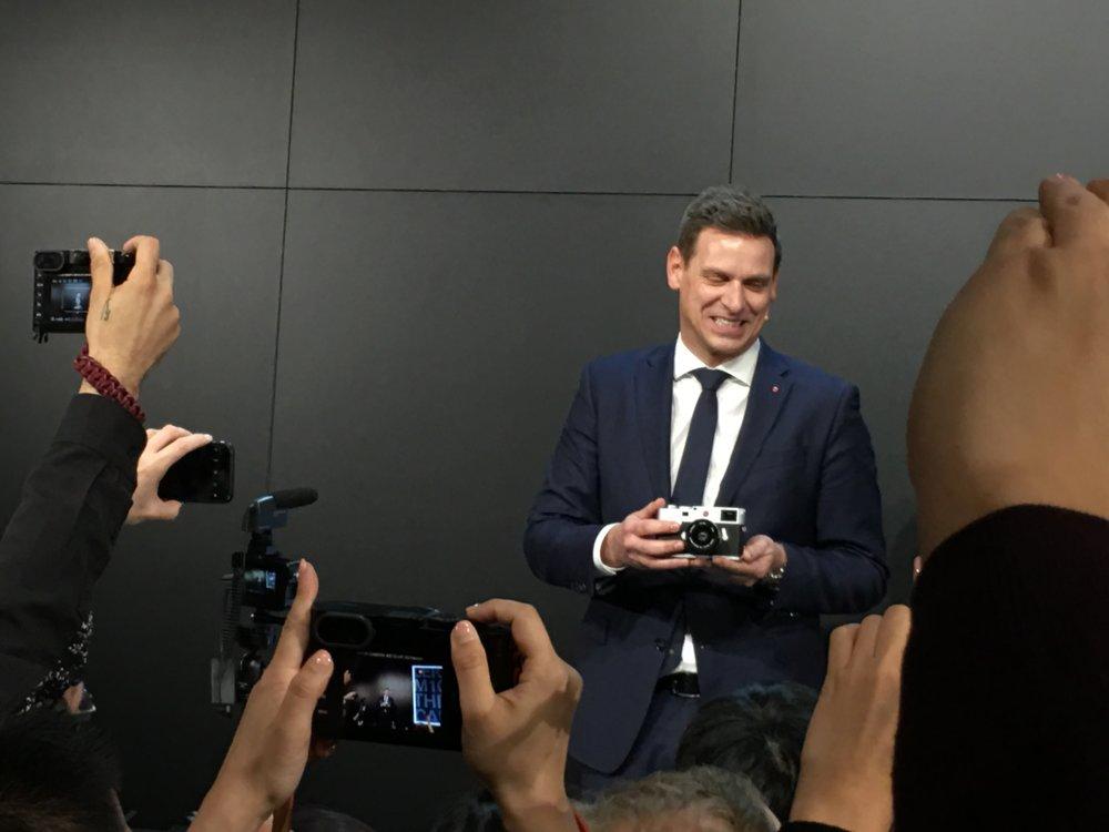 Oliver Kaltner CEO Leica