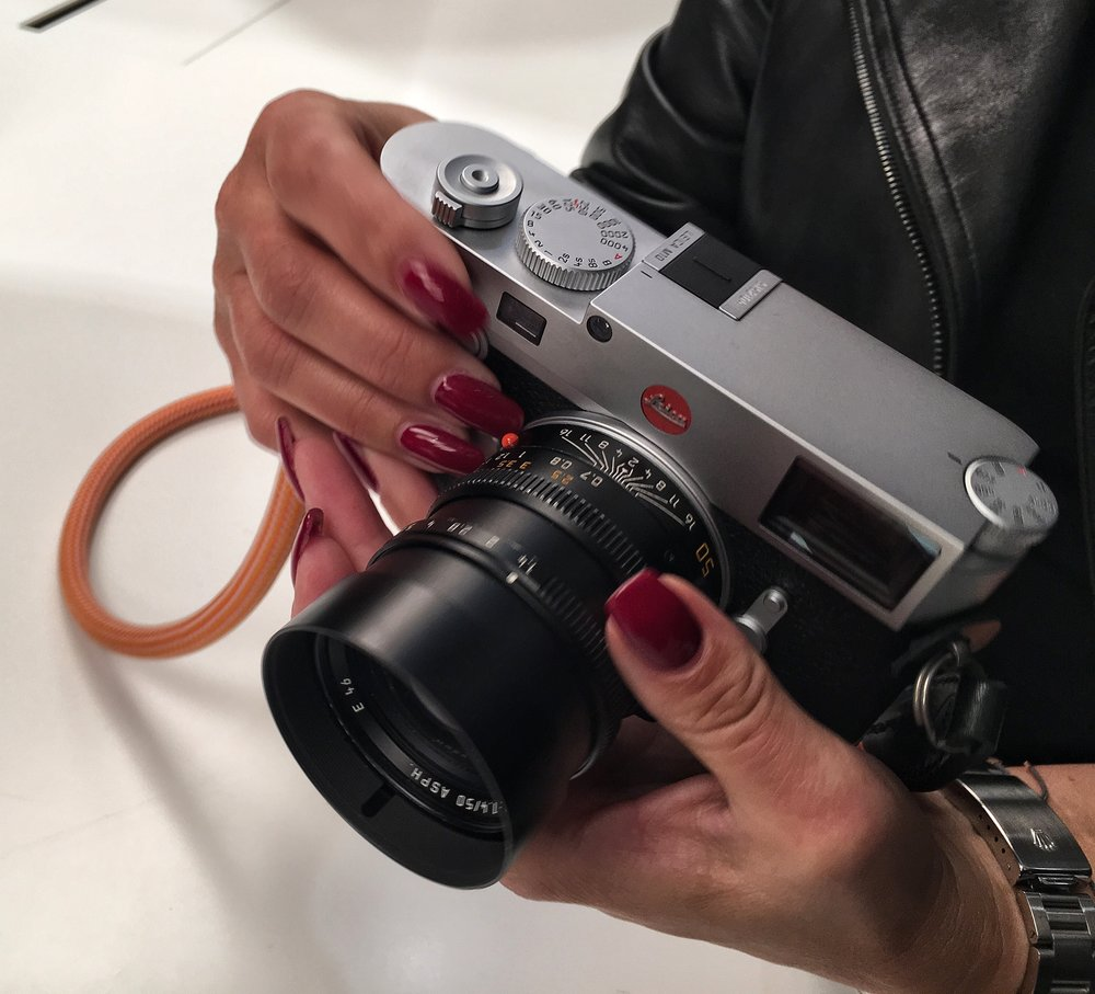 FOTOCULT Magazin Herausgeberin Nadja Gusenbauer - First Hands on Leica M 10