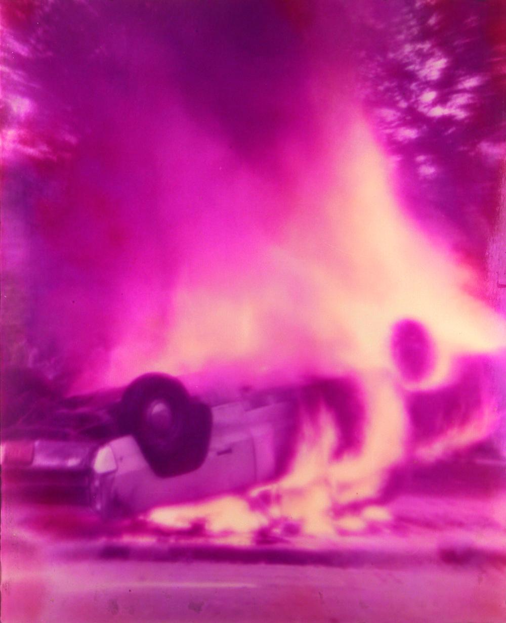 Chicago Riot Linsenrasterfotografie  Courtesy Fotosammlung OstLicht © Nachlass Alfons Schilling