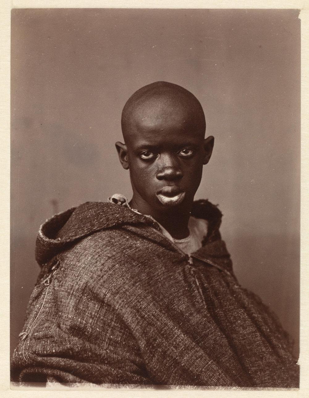 Antonio Cavilla, Portret van een Noord-Afrikaanse man, 1880(c)Rijksmuseum