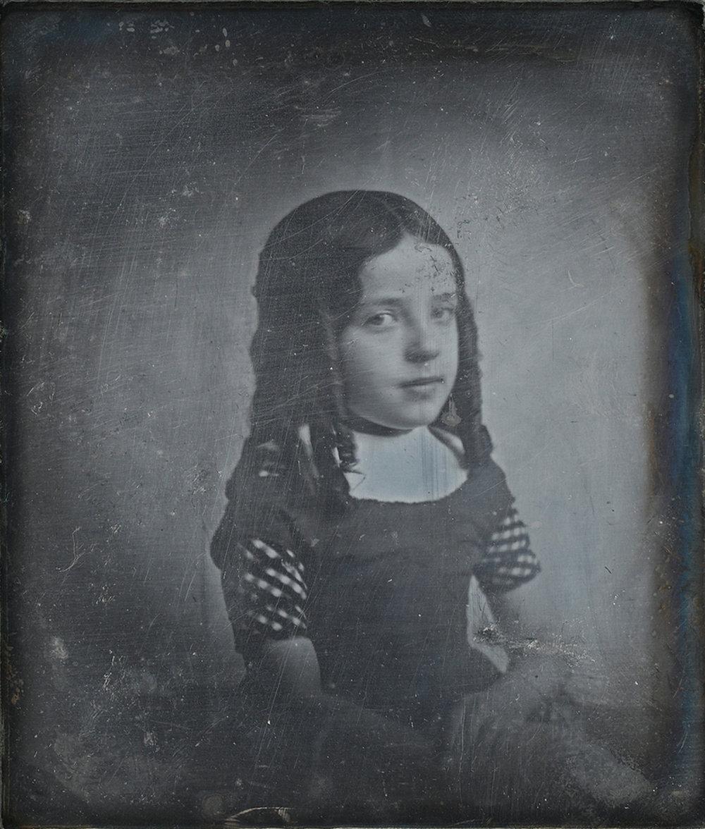 Eduard Isaac Asser_Portret van Charlotte Asser dochter van de fotograaf_1842(c)Rijksmuseum_2017