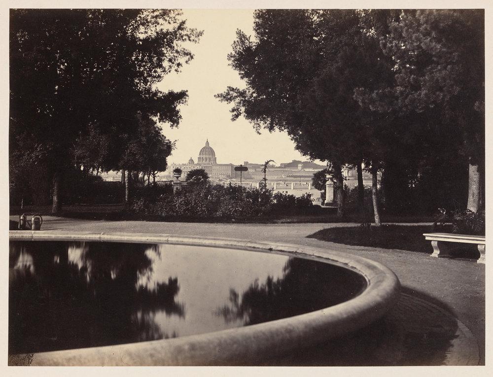 Robert Macpherson_Gezicht op Rome vanaf Monte Pincio_1860_1863(c)Rijksmuseum_2017