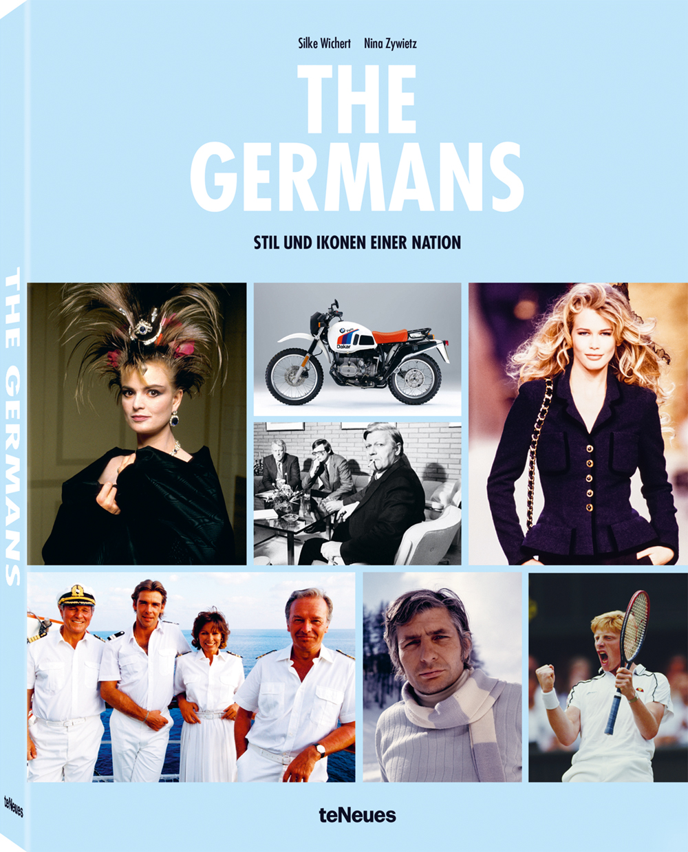 © THE GERMANS - STIL UND IKONEN EINER NATION von Silke Wichert & Nina Zywietz, erschienen bei teNeues, € 39,90,www.teneues.com. Photos © Ron Galella/Getty Images; © BMW AG 2017; © Ulrich Baumgarten/Getty Images; © Victor VIRGILE/Getty Images; © Leo Mason/Popperfoto/Getty Images; © Rainer Binder/Getty Images; © Peter Bischoff/Getty Images