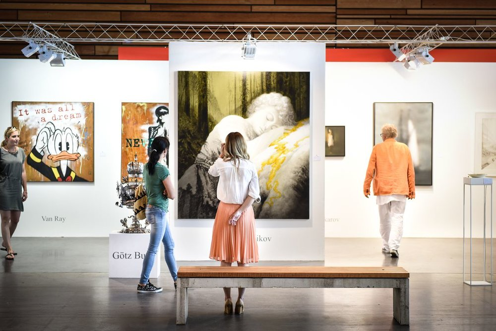 Art Bodensee 2017 Die Art Bodensee ist die einzige Sommer-Kunstmesse im Bodenseeraum. Copyright: Udo Mittelberger www.udomittelberger.com