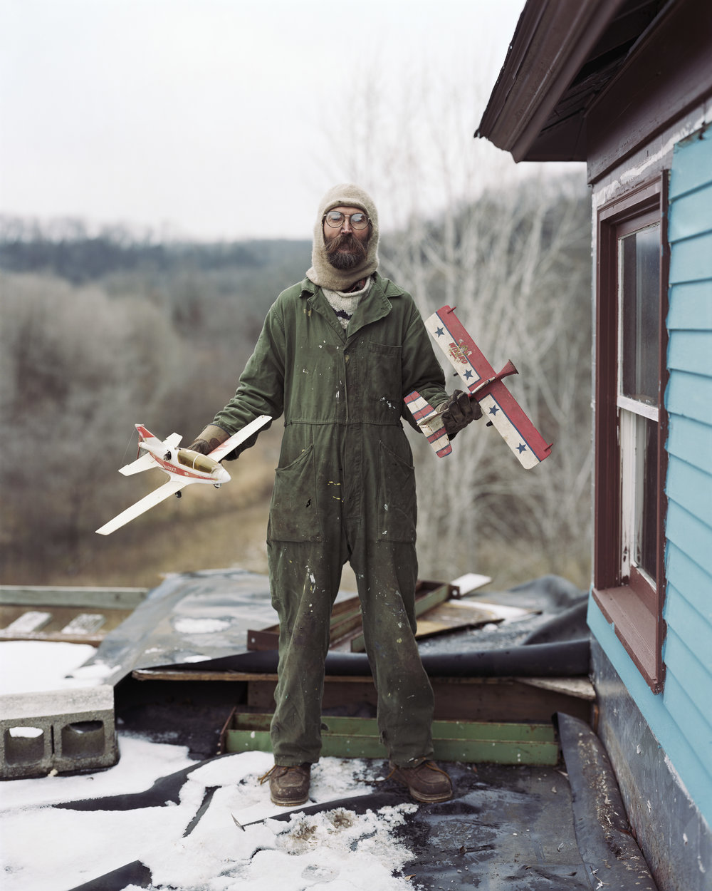 Alec Soth Charles, Vasa, Minnesota, 2002 Aus der Serie: Sleeping by the Mississippi  © Alec Soth / Magnum Photos / Agentur Focus