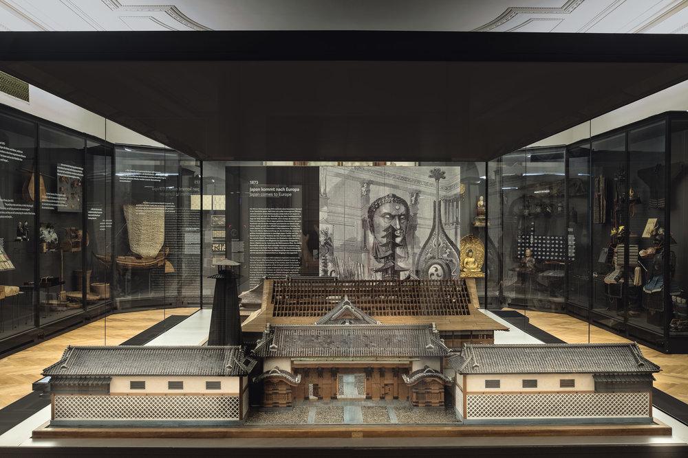 """Einblick Saal """"1873 – Japan kommt nach Europa"""" Copyrigth: KHM-Museumsverband"""