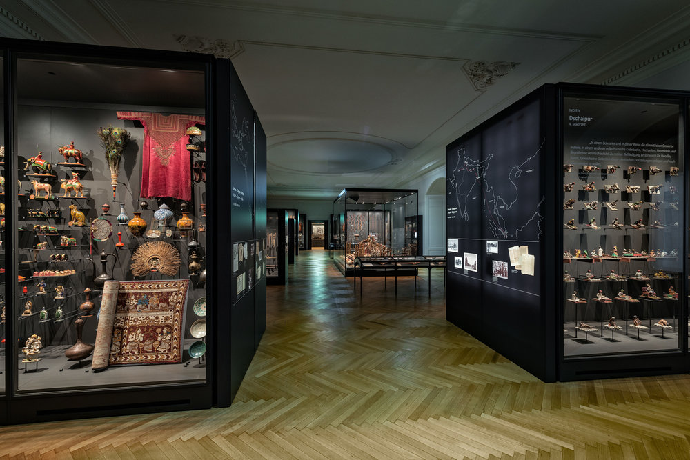 """Einblick Saal """"Sammlerwahn. Ich leide an Museomanie!"""" Copyrigth: KHM-Museumsverband"""
