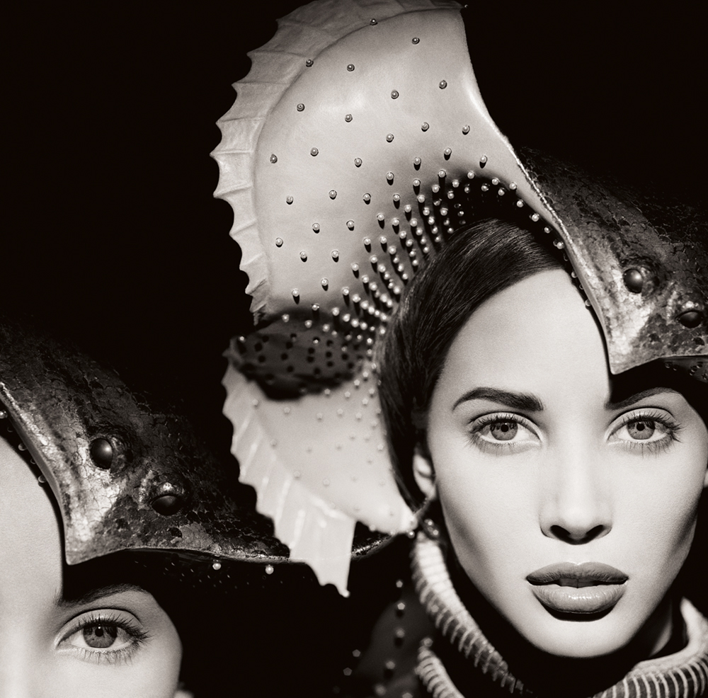 Christy Turlington, Manta Ray, The Surreal Thing,     Series, New York, 1987   Photo © 2017 Matthew Rolston Creative, Inc. All rights reserved.  www.hollywoodroyale.com
