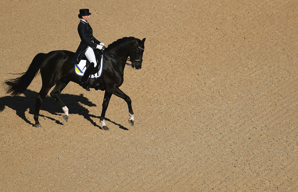 Dressage  Photo © Christian Petersen/Getty Images. Usage on conditions above till August 16, 2022, afterwards to be requested at Getty, image fee will be invoiced directly from them.