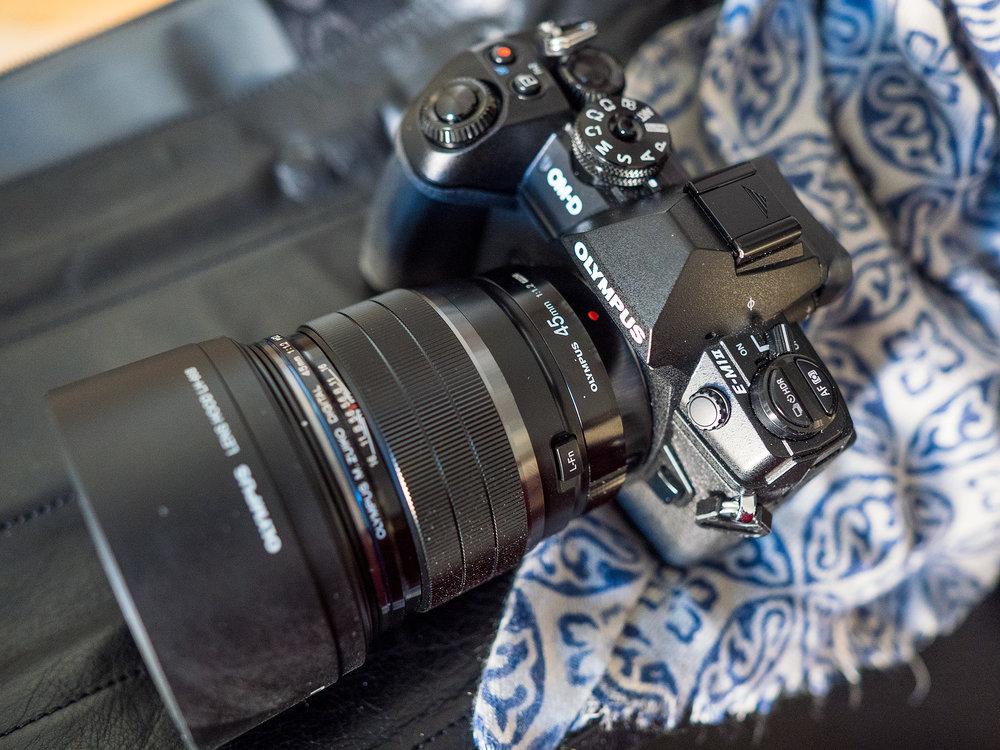 M.Zuiko Digital ED 45 mm 1:1.2 PRO