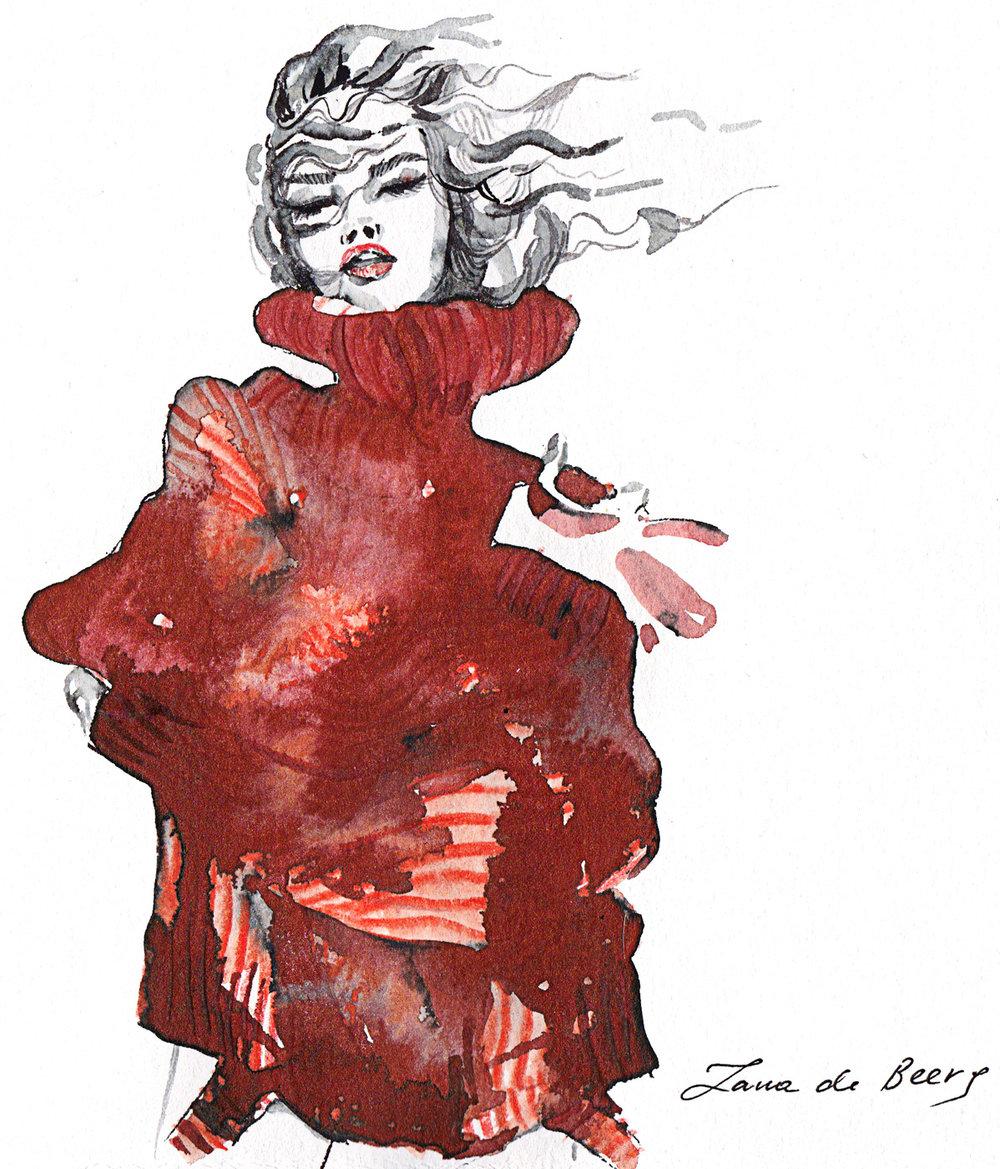 Svetlana Vetter Fashionillustration