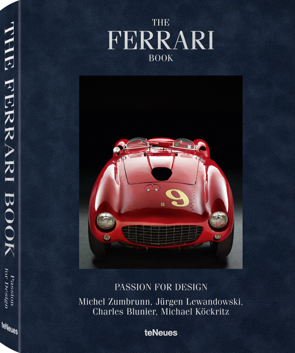 © The Ferrari Book - Passion for Design by Michel Zumbrunn, Jürgen Lewandowski, Charles Blunier & Michael Köckritz, published by teNeues, € 128,  www.teneues.com  .   FERRARI 375 MM, 1953  Photo © Michel Zumbrunn