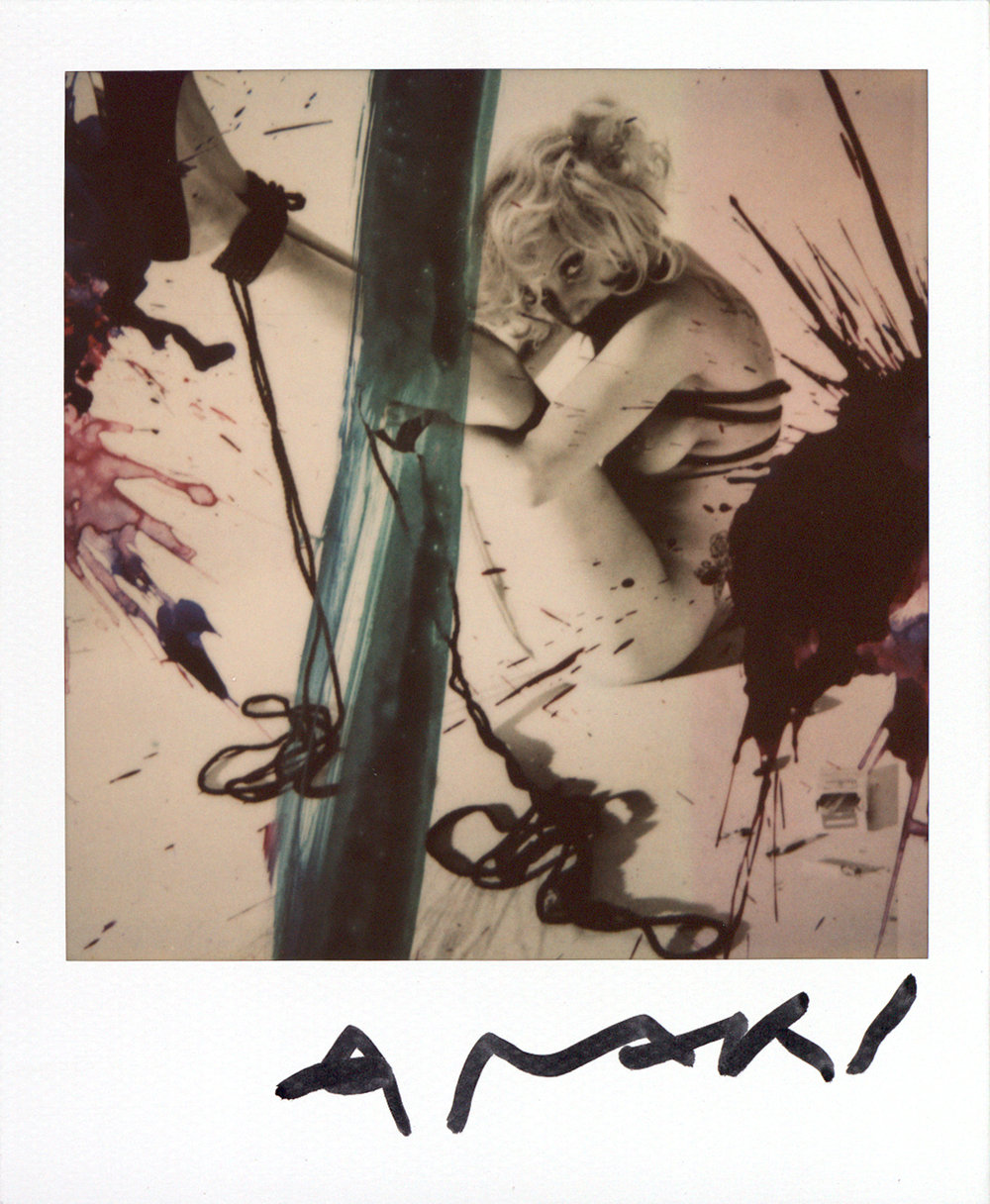 Nobuyoshi Araki  Lady Gaga  2009  Polaroid SX-70  © Nobuyoshi Araki, Courtesy Fotosammlung OstLicht