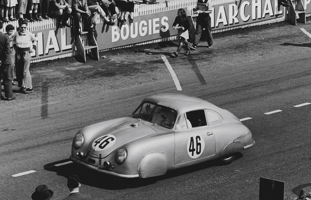 Porsche 356 SL Coupé, 1951 Photo © Dr. Ing. h.c. F. Porsche AG