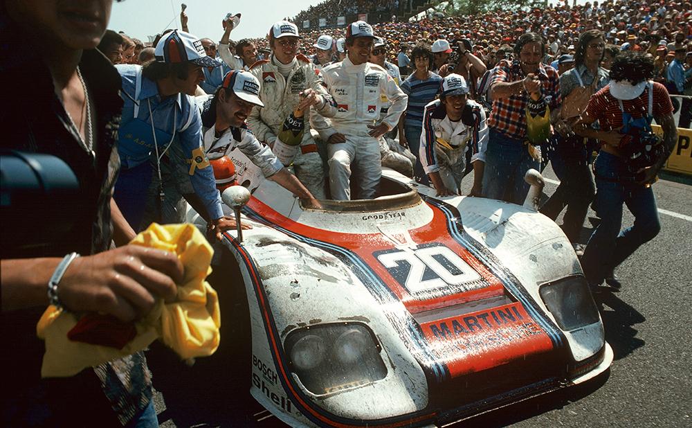 Porsche 936 Spyder, 1976 Photo © Dr. Ing. h.c. F. Porsche AG
