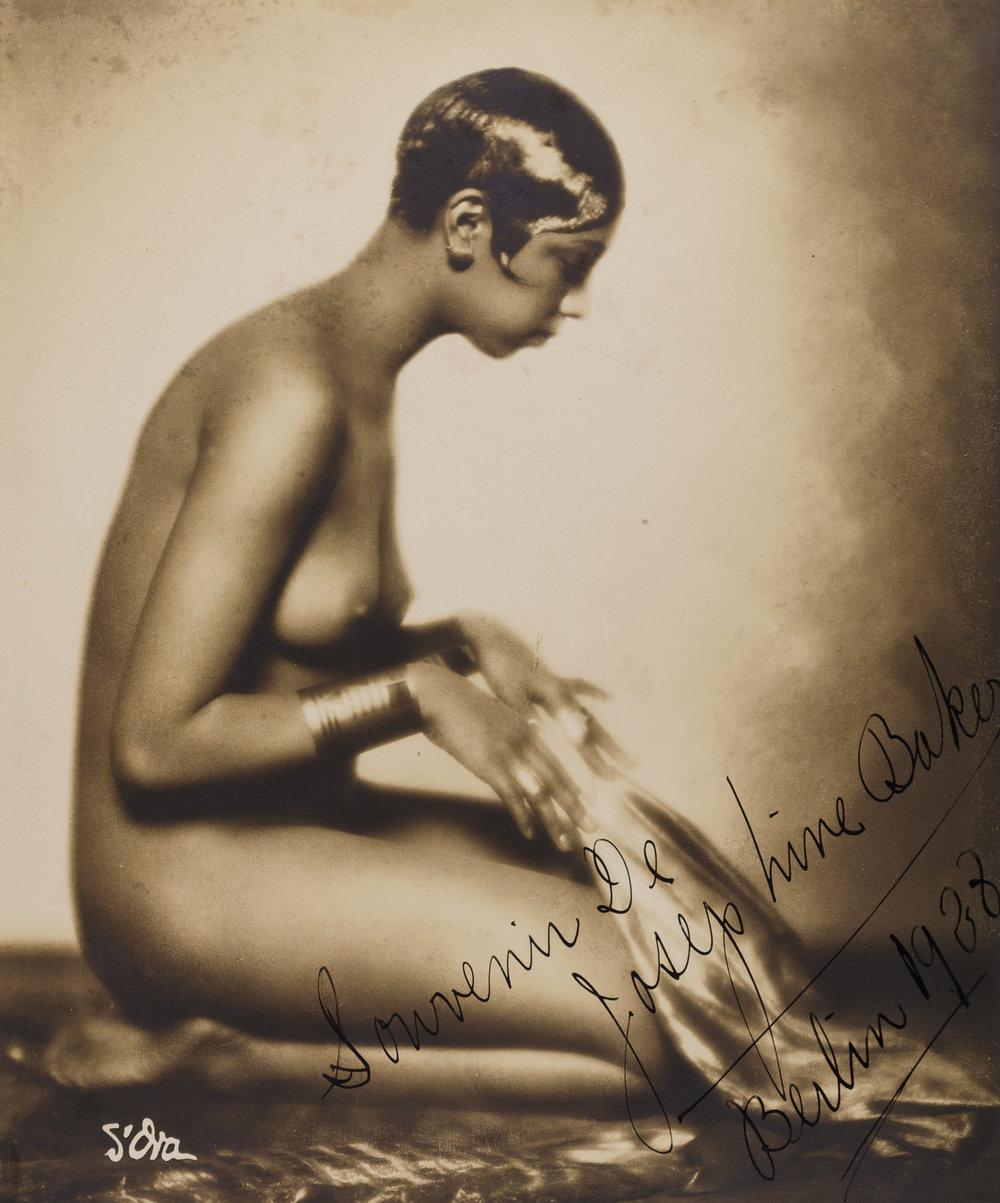 Madame d'Ora, Josephine Baker, 1928, Silbergelatineabzug, 19,4 x 16 cm, © Nachlass d'Ora/Museum für Kunst und Gewerbe Hamburg