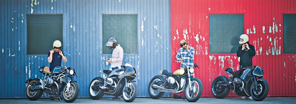Hide Motorcycle, Boxer  Photo © Ken Takayanagi