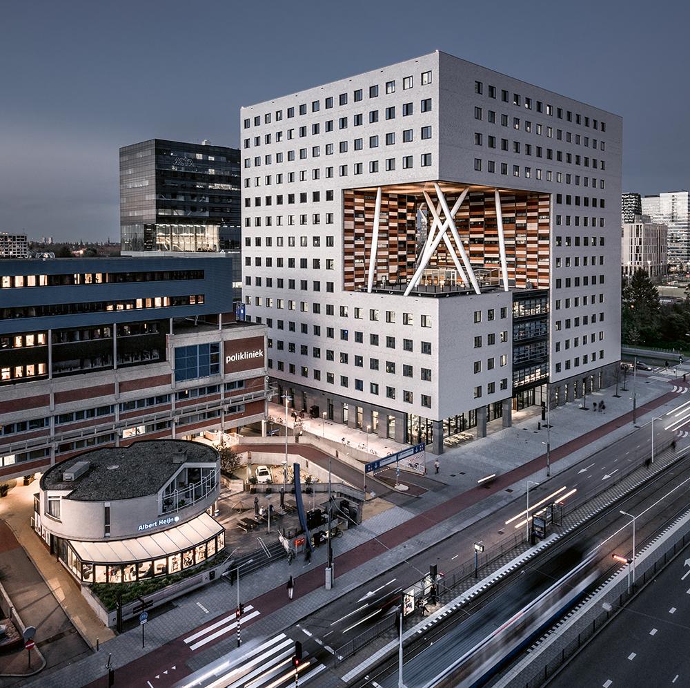 VU O|2 Lab Building, Buitenveldert  Photo © Jeroen van Dam