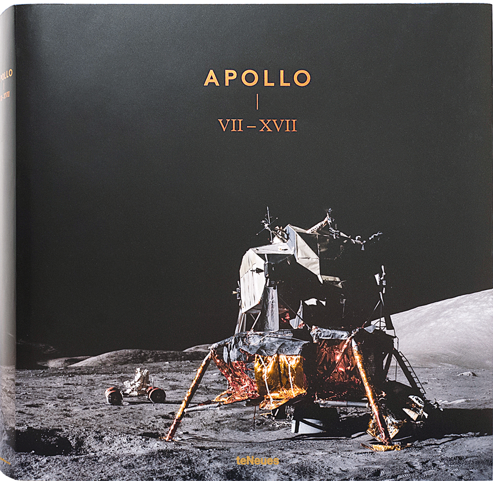© APOLLO VII-XVII, published by teNeues, € 50,  www.teneues.com ,  Apollo 17 , Photo © courtesy of The National Aeronautics and Space Administration (NASA) photographic archives