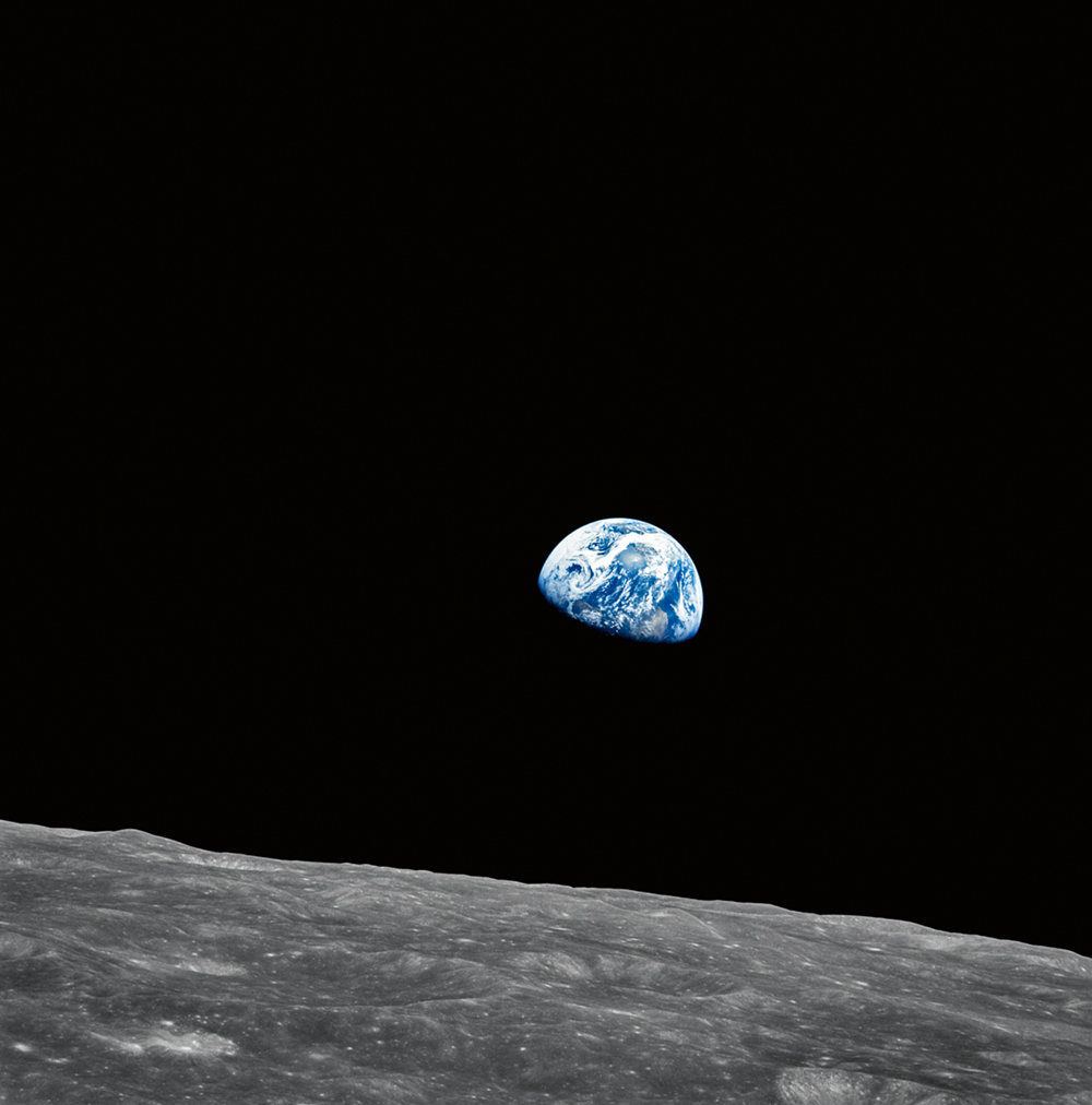 Apollo 8  Photo © courtesy of The National Aeronautics and Space Administration (NASA) photographic archives