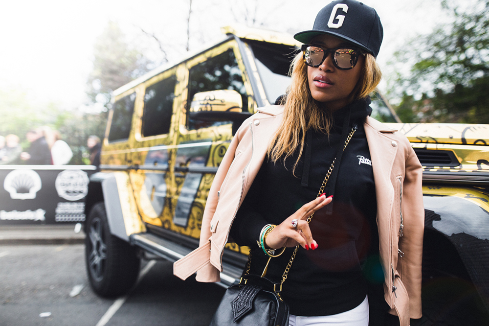 Rapper Eve arrives in Dublin  Photo © Curtis Jehsta