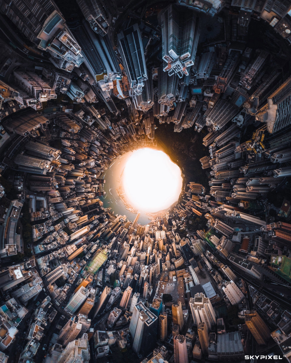 2018 SkyPixel Contest-Photo Group-First Prize-Architecture-Not a small HK island