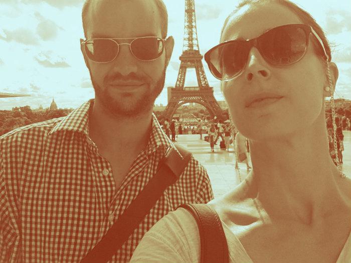 """So ein """"schönes"""" Foto entsteht, wenn man sich darauf konzentriert, dass der Turm auch ja in der Mitte ist!"""