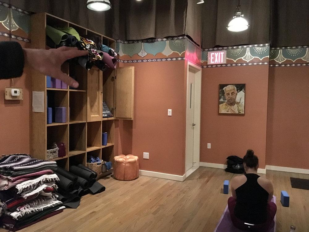 Yoga store
