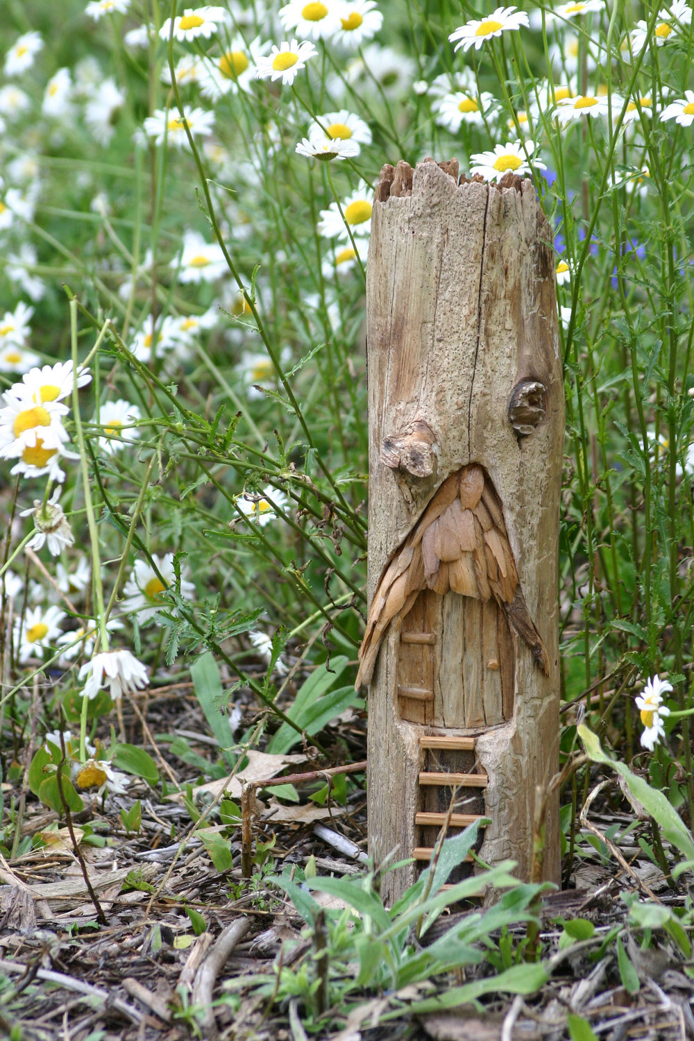 Fairy Door carving