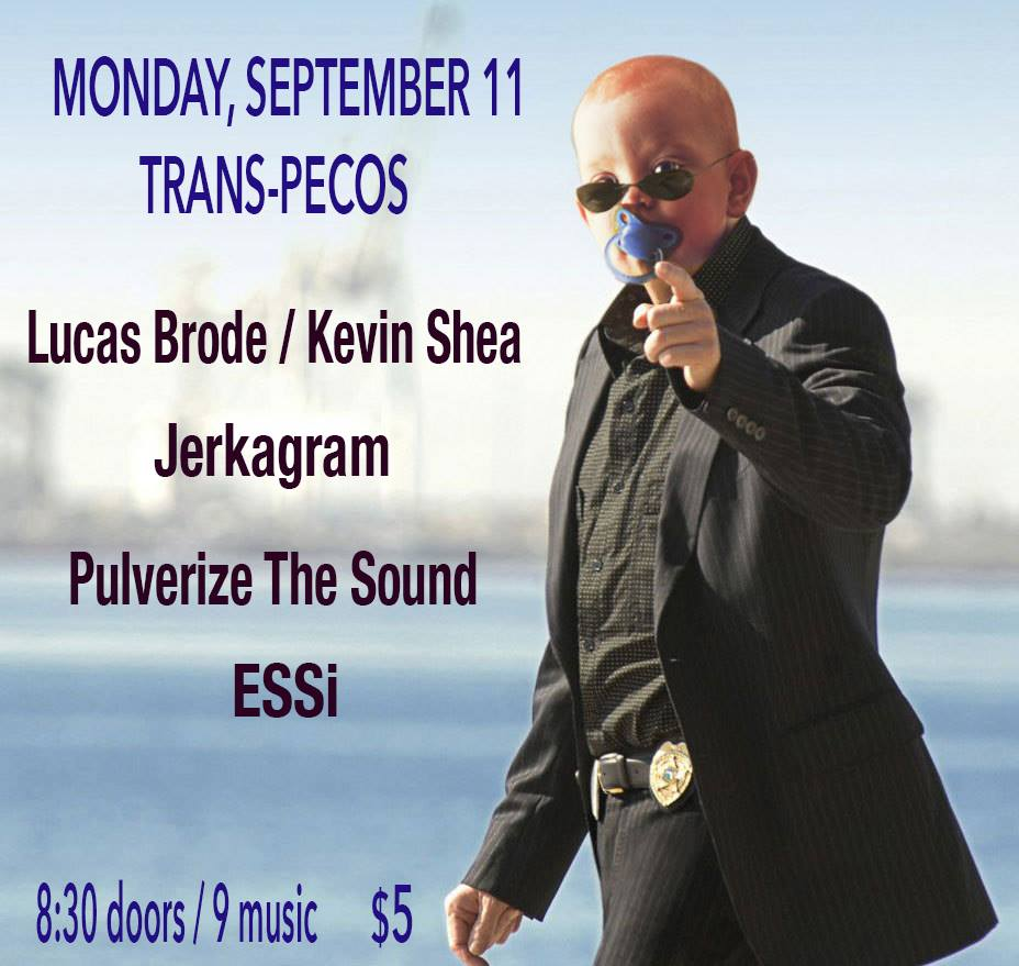 Lucas Brode / Kevin Shea  Jerkagram  Pulverize The Sound (Mike Pride / Tim Dahl / Peter Evans)  ESSi