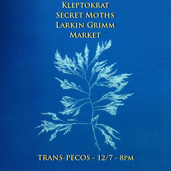Kleptokrat    Secret Moths  (RVA)   Larkin Grimm    Market