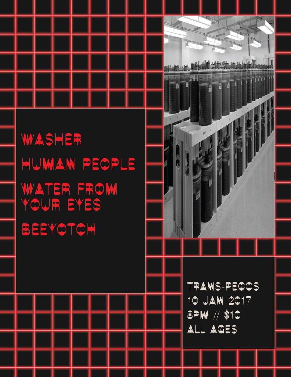 : Human People :: Washer ::: Water From Your Eyes :::: Beeyotch
