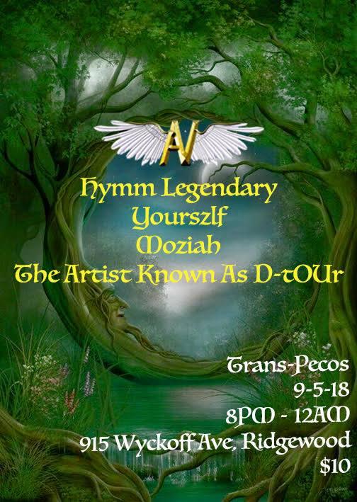 AV Hymm Legendary Yourszlf Moziah The Artist Known As D-tOUr