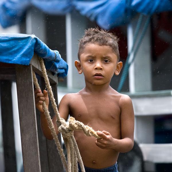 Amazon Boat Boy