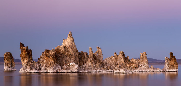 Afterglow at Mono Lake