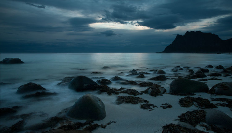 Moonlight Bay Lofoten Islands