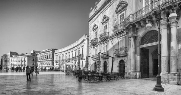 The Square Syracuse Sicily