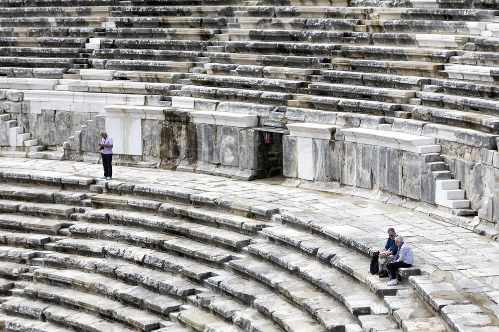 Aspendos Roman Theatre, Turkey