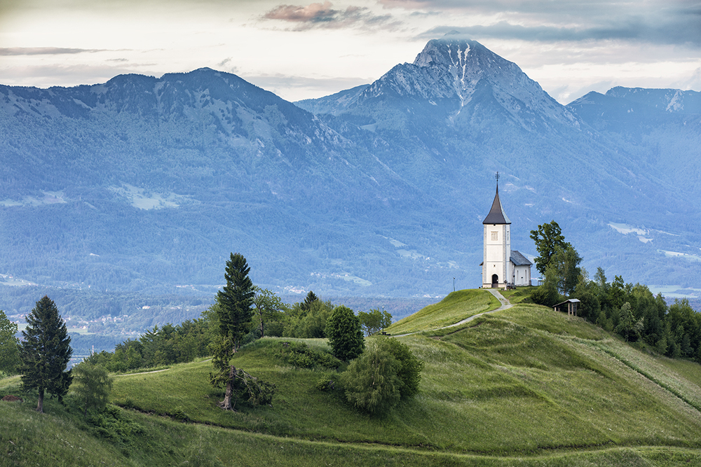 Church of St Prius and Felician, Jamnik Slovenia