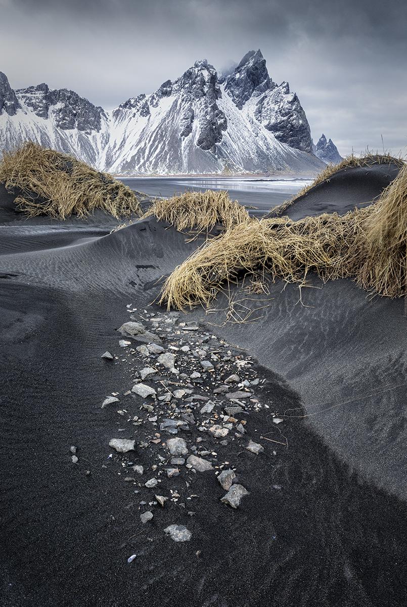 Westerhorn Volcanic Beach Iceland