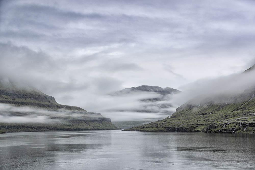 Clearing Storm Faroe islands