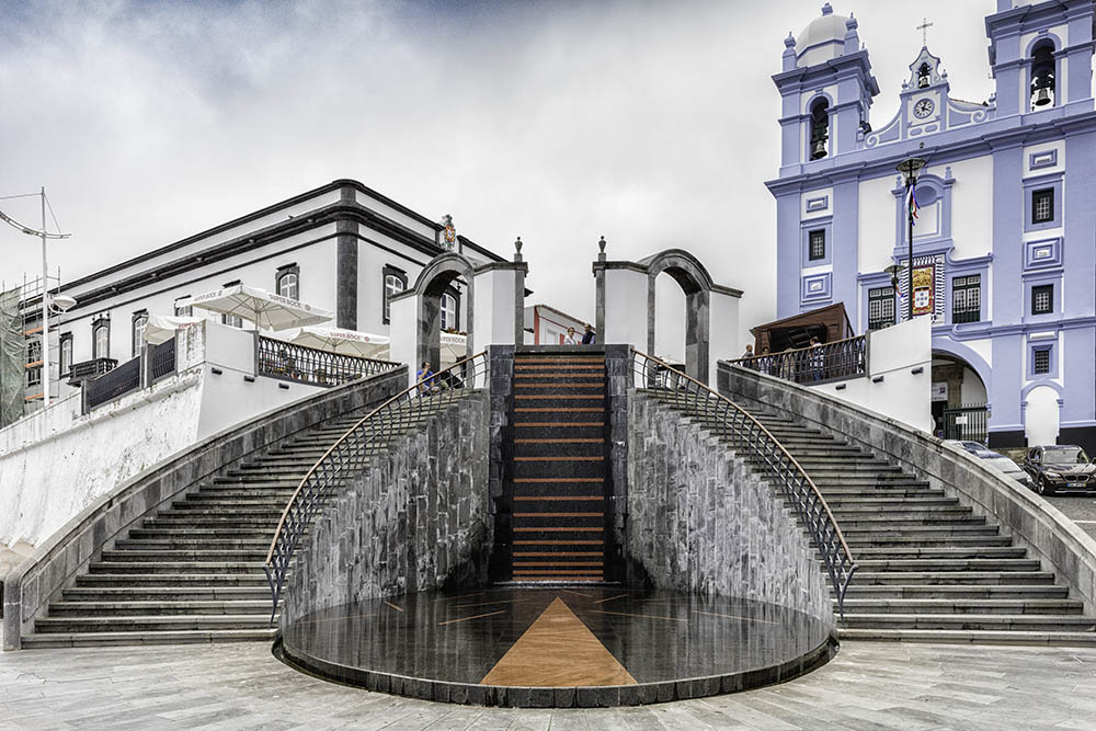Downtown in Terceira Azores