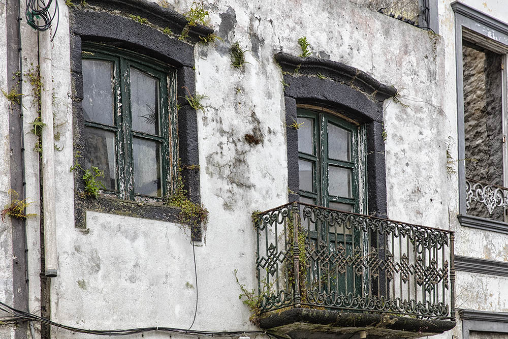 Old Building Horta Azores