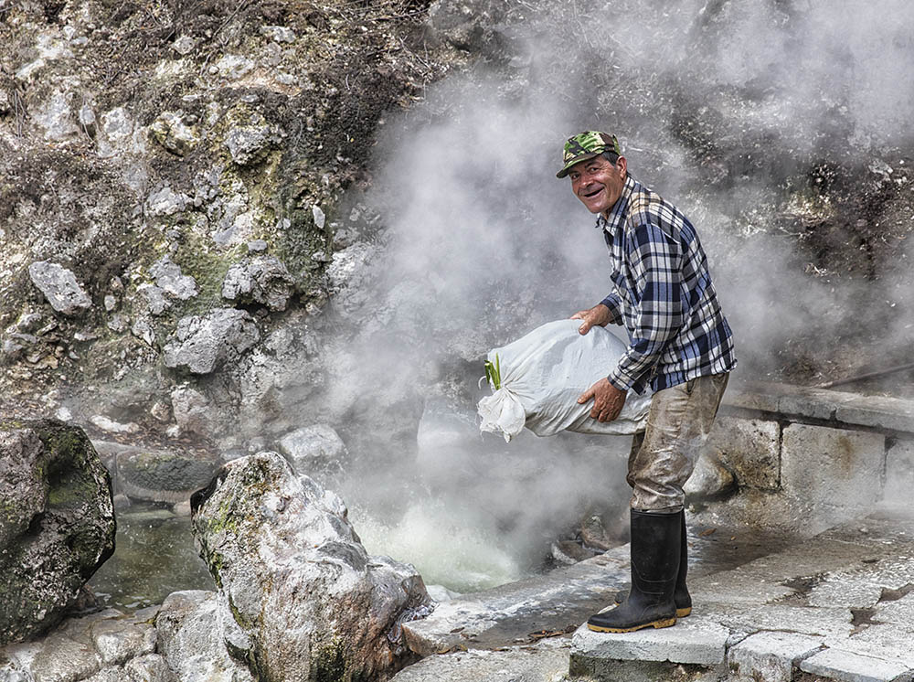 Volcanic Cooking Azores