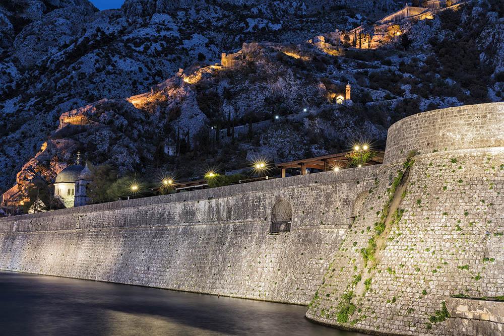 Evening in Kotor Montenegro