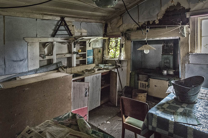 Abandoned Cottage Reefton Goldfields S.I NZ